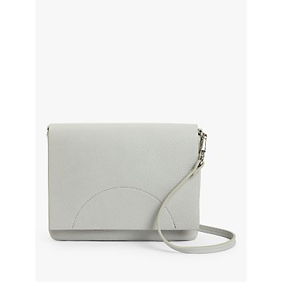 Kin East West Flapover Cross Body Bag, Grey