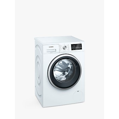 Siemens iQ500 WM14T488GB Freestanding Washing Machine, 8kg, A+++ Energy Rating, White