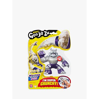 Heroes of Goo Jit Zu Wolfpain the Wolf Squishy Action Figure