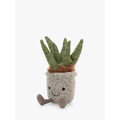 Jellycat Silly Succulent Aloe Soft Toy, Medium