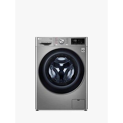 LG V700 FWV796STS Freestanding Washer Dryer, 9kg Wash/6kg Dry Load, A Energy Rating, Graphite