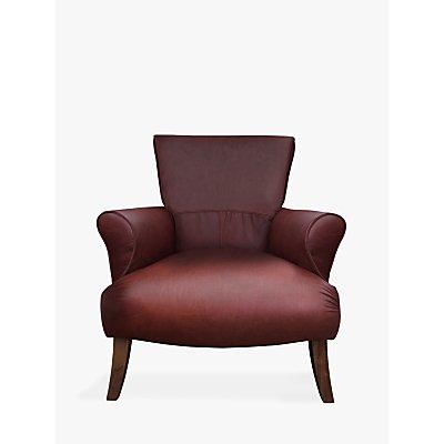 Tetrad Tulla Leather Armchair, Highland Hickory
