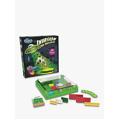 Invasion of the Cow Snatchers Mooove the Magnets Logic Game