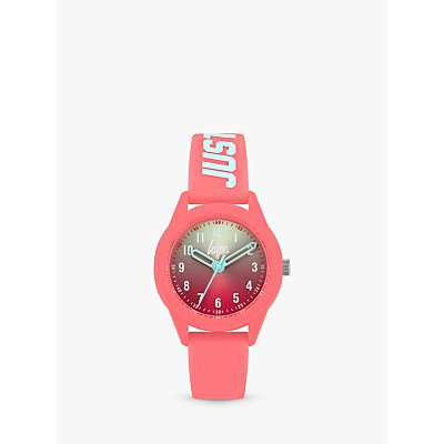 Hype Children's Just Hype Silicone Strap Watch