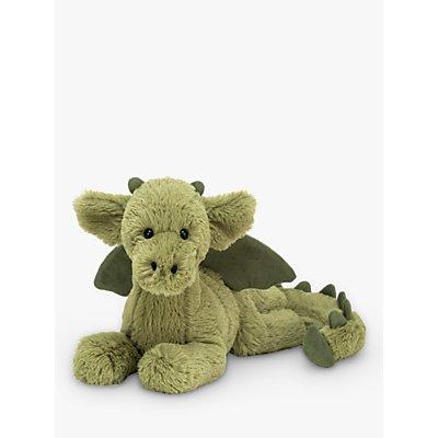 Jellycat Monty The Dragon Soft Toy, Medium
