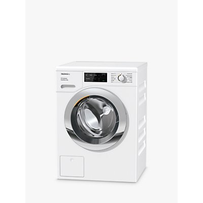 Miele WEG365 Freestanding Washing Machine, 9kg Load, 1400rpm, A+++ Energy Rating, White