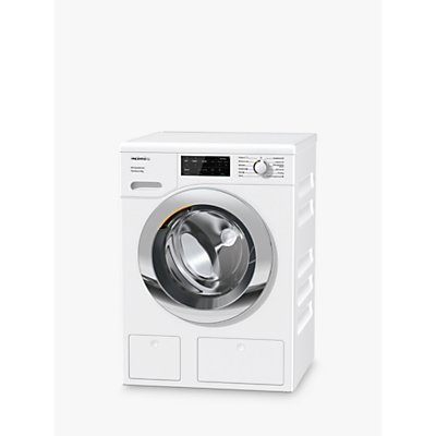 Miele WEG665 Freestanding Washing Machine, 9kg, 1400rpm, A+++ Energy Rating, White