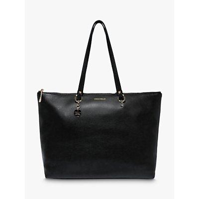 Coccinelle Alpha Leather Shopper Tote Bag
