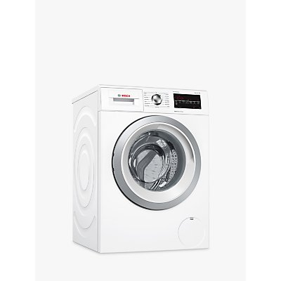 Bosch WAT28463GB Freestanding Washing Machine, 9kg Load, A+++ Energy Rating, 1400rpm Spin, White