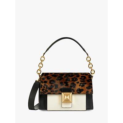 Furla Diva Mini Leather Shoulder Bag