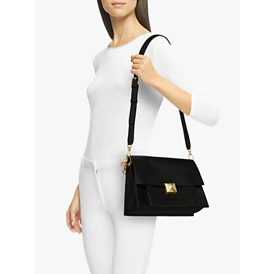 Furla Diva Medium Leather Shoulder Bag
