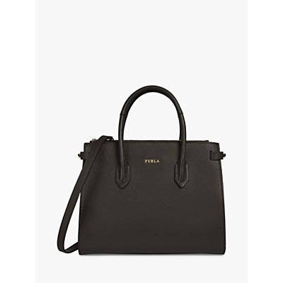 Furla Pin Small Leather East West Tote Bag