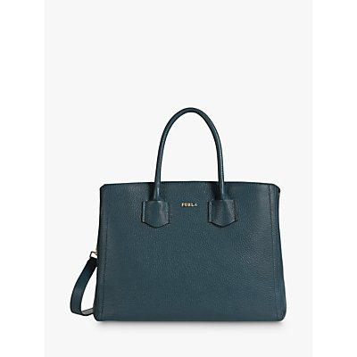 Furla Alba Medium Leather Tote Bag, Ottanio