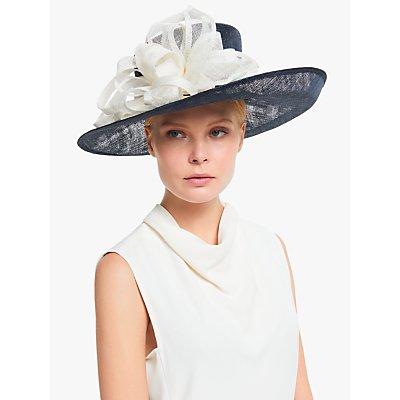 John Lewis & Partners Martina Brim Up Multi Loop Occasion Hat