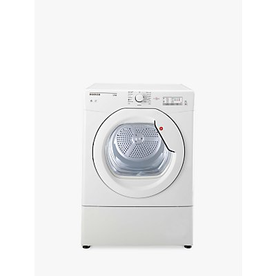 Hoover HLV10LG Vented Tumble Dryer, 10kg Load, C Energy Rating, White