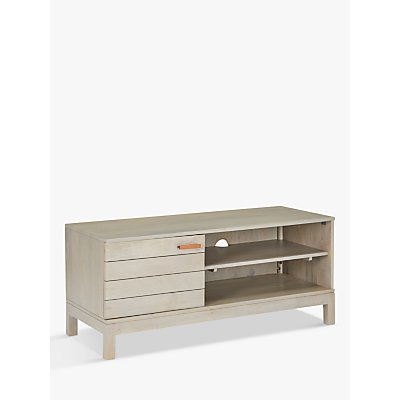 John Lewis & Partners Asha TV Stand for TVs up to 55, Grey