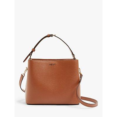 DKNY Leather Bucket Bag