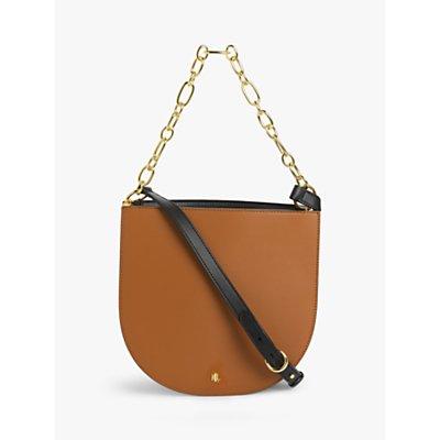 Lauren Ralph Lauren Sawyer 25 Leather Shoulder Bag