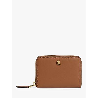 Lauren Ralph Lauren Small Leather Zip Around Wallet