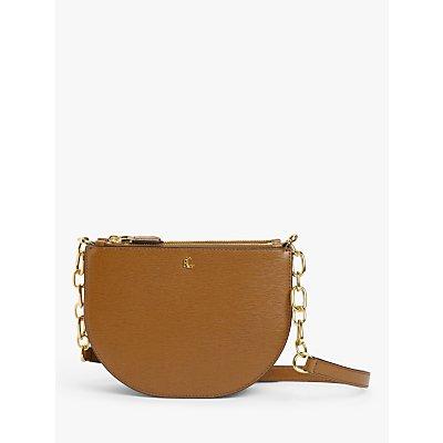 Lauren Ralph Lauren Sutton 22 Leather Cross Body Bag