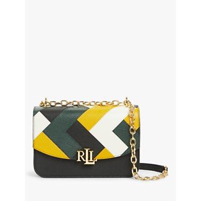 Lauren Ralph Lauren Madison 22 Leather Cross Body Bag, Multi
