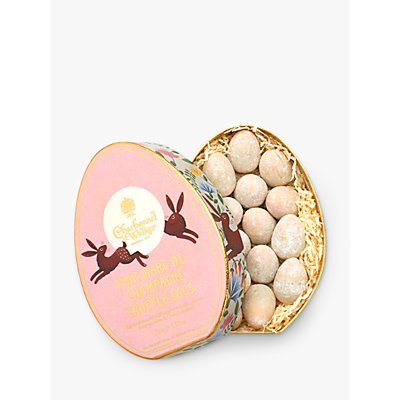 Charbonnel et Walker Pink Marc de Champagne Easter Egg Truffles, 200g