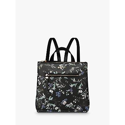 Fiorelli Finley Zip Top Backpack  Floral - 5050545679136