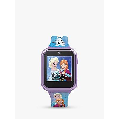 Disney Frozen FZN4151 Children's Interactive Silicone Strap Watch, Purple
