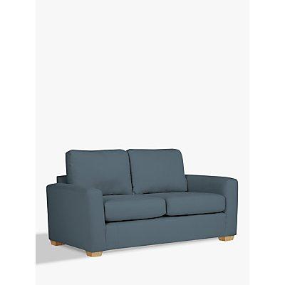 House by John Lewis Oliver Small 2 Seater Modular Sofa, Light Leg