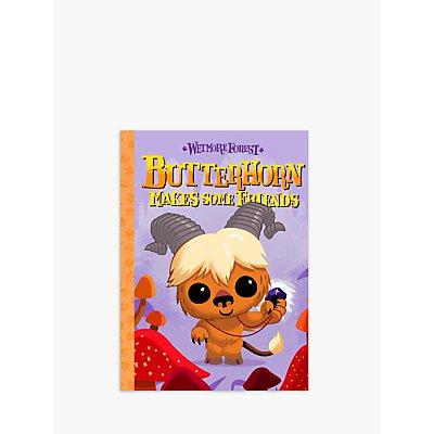 Wetmore Forest Butterhorn Makes Some Friends Children's Book