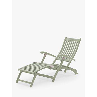 KETTLER RHS Rosemoor Garden Steamer Chair, FSC-Certified (Eucalyptus Wood), Sage