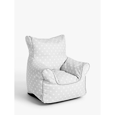 5059139351335 | little home at John Lewis Star Bean Bag Chair  Grey
