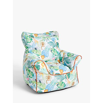 little home at John Lewis Safari   Friends Bean Bag Chair  Multi 5059139351328