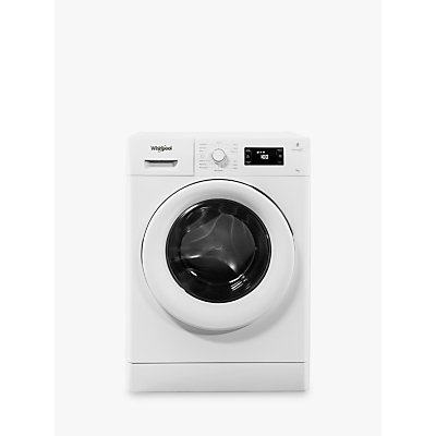 Whirlpool FWG81496W Freestanding Washing Machine, 8kg Load, A+++ Energy Rating, White