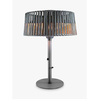 KETTLER Kalos Plush Table Top Electric Patio Heater  Grey - 5057229743138