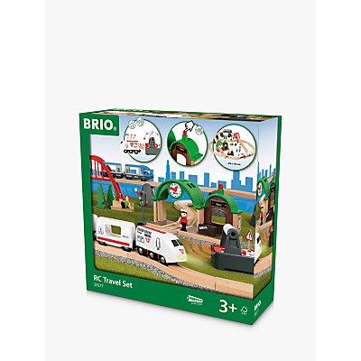 BRIO 33277 Remote Control Wooden Train Travel Set
