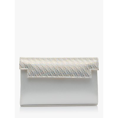Rainbow Club Elsie Parquet Clutch Bag, Gold