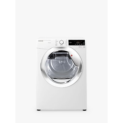 Hoover DX C10TCE-80 Condenser Tumble Dryer, 10kg Load, C Energy Rating, White