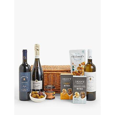 John Lewis & Partners Wine, Fizz & Nibbles Hamper