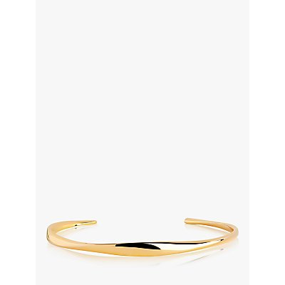 Sif Jakobs Jewellery Irregular Open End Bangle  Gold - 5710698067654