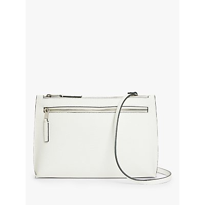 Kin Sia Crossbody Clutch Bag, White