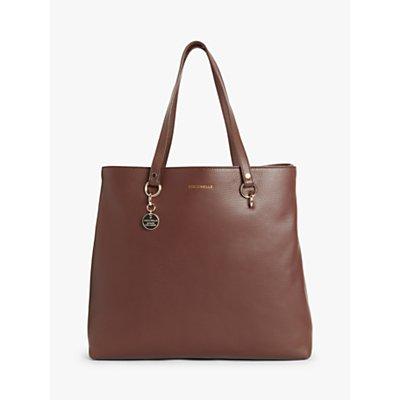 Coccinelle Alpha Medium Leather Tote Bag