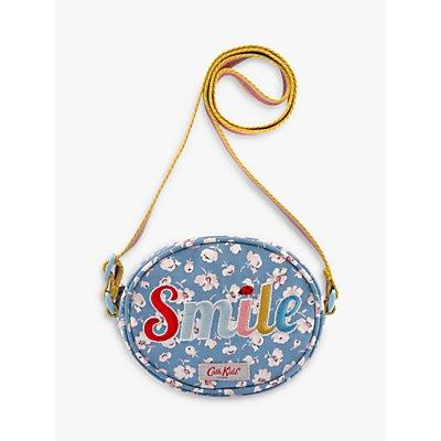 Cath Kids Ladybird Oval Handbag, Blue