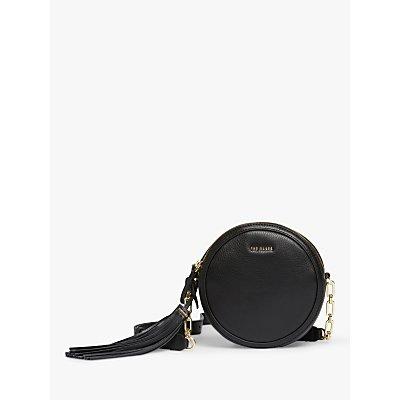 Ted Baker Errinn Circular Leather Cross Body Bag