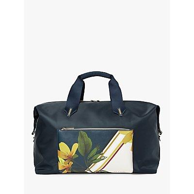 Ted Baker Tamrah Floral Weekend Bag, Dark Blue