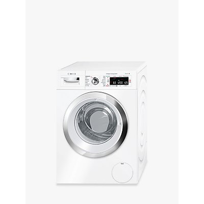 Bosch WAWH8660GB Freestanding Washing Machine, 9kg Load, 1400rpm Spin, A+++ Energy Rating, White