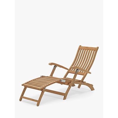 KETTLER RHS Chelsea Garden Steamer Chair, FSC-Certified (Eucalyptus Wood), Natural