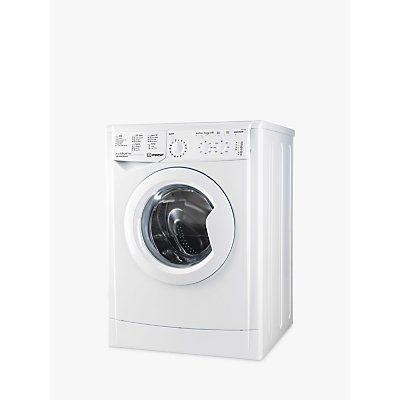 Indesit IWC71252 Freestanding Slim Depth Washing Machine, 7kg Load, A++ Energy Rating, 1400rpm Spin, White