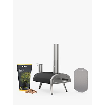 Ooni Fyra Portable Outdoor Pizza Oven, Pizza Peel & Pellets