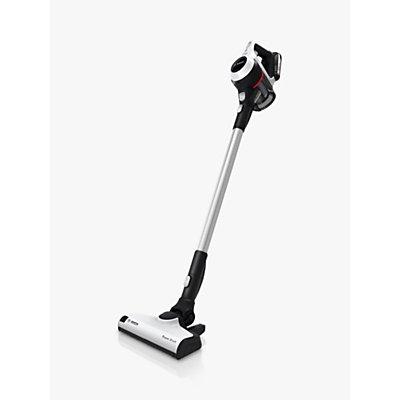 Bosch BCS611GB Series 6 Cordless Upright Vacuum Cleaner, White